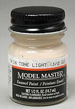 Testors Model Master Light Skin Tone 1/2 oz Enamel Paint 2001 TES2001