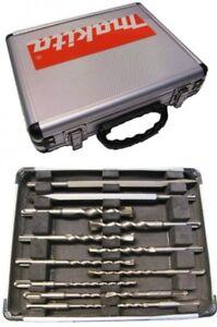 MAKITA-D-20111-Drill-Bit-Set-With-Chisels-13-Pcs-SDS-Plus-Hammers