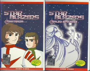 Star-Blazers-01-02-Corazzata-spaziale-Yamato-VHS-d-039-epoca-1-ed-rara