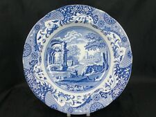 "Spode Blue Italian 9"" scalloped rim soup bowl Made in England               s775"