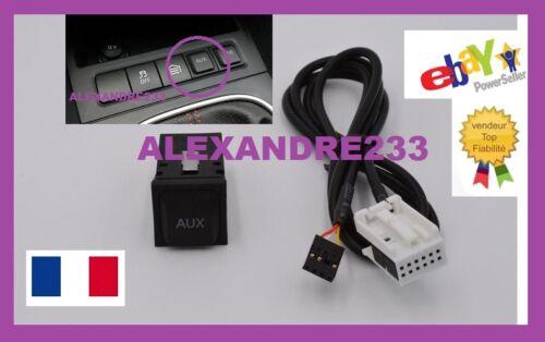 AUX Cable 3,5mm />/> Quadlock 12pol pour Seat RCD310 RNS315 RCD510