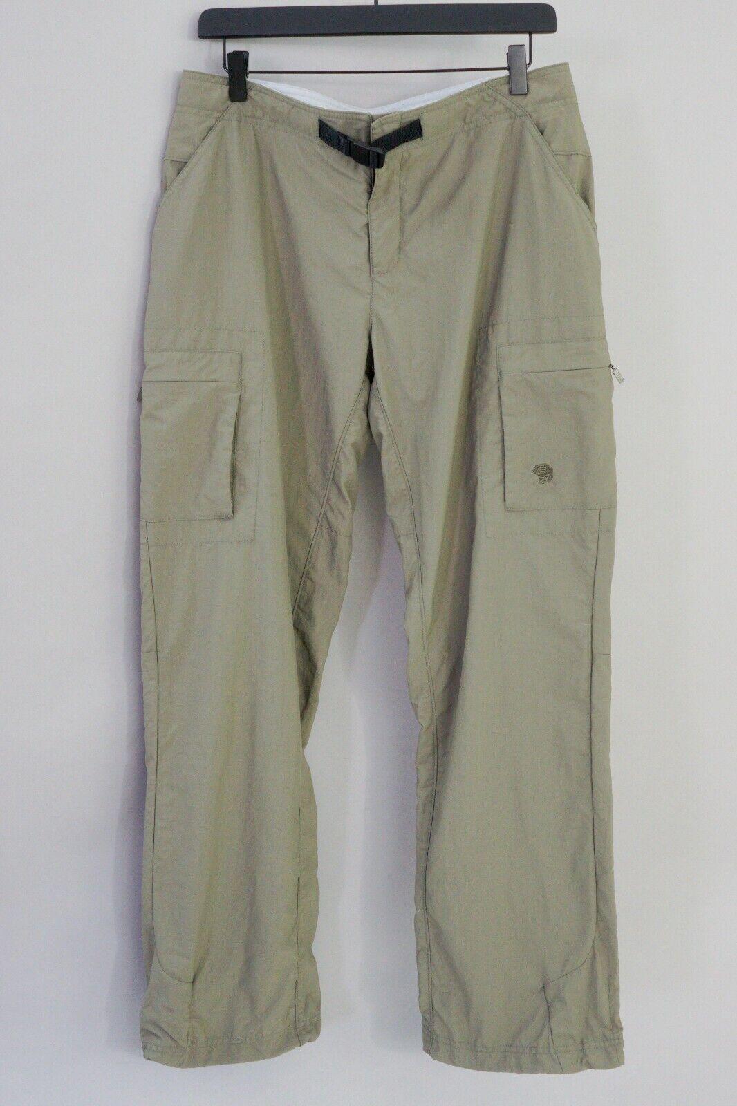 Women Mountain Hardwear Trousers Outdoor Hiking Camping 10 W34 L32 JJB124