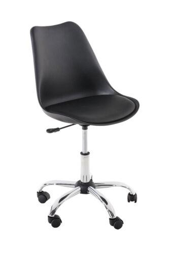 Retro Bürostuhl PEGLEG mit Lehne Drehstuhl Arbeitshocker Schreibtischstuhl