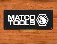 """TIN-UPS TIN SIGN """"Matco Tools"""" Mechanic Tire Garage Rustic Wall Decor"""