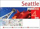 Seattle PopOut Map by Compass Maps (Sheet map, folded, 2013)