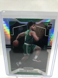 2019-20-Panini-Prizm-Carsen-Edwards-SILVER-PRIZM-WAVE-276-RC-Rookie-Celtics