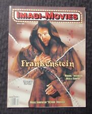 1994 Winter IMAGI-MOVIES Magazine FN+ 6.5 Frankenstein Dracula Vampire