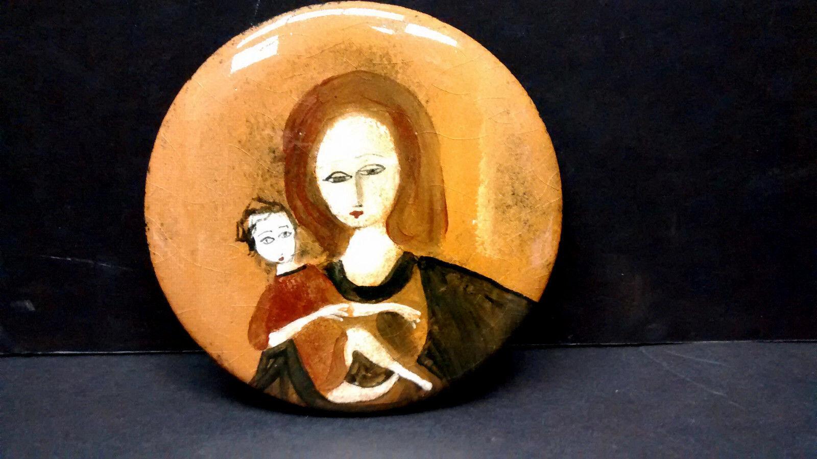Polia Pillin Pottery Coverouge Box