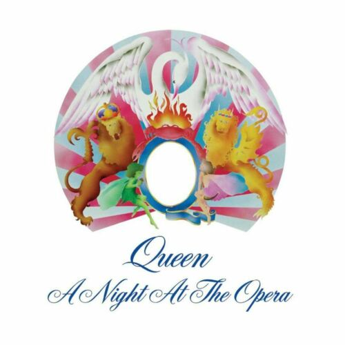 Poster Affiche Queen Freddy Mercury A Night at the Opera Rock 80/'s