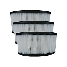 (3) 40130050 Hoover Fold Away Turbo Power 3100 HEPA Pleated filter, Upright, ...
