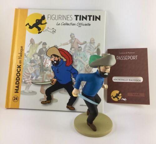 Collection officielle figurine Tintin Moulinsart 24 Haddock en Hadoque