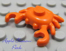 NEW Lego Belville ORANGE CRAB -Sea/Ocean Animal -Minifig/Minifigure Kitchen Food