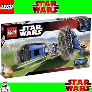 Giocattolo-LEGO-STAR-WARS-TIE-Crawler-7664-Molto-Raro