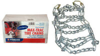 400x480x8, 480x400x8, 400-480-8, Tire Chains, Pair With 2 Link Cross Spacing
