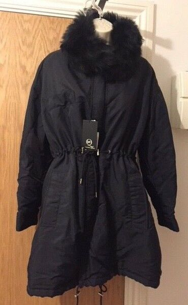McQ by Alexander Mcqueen Shearling Collar Parka Size  IT 40