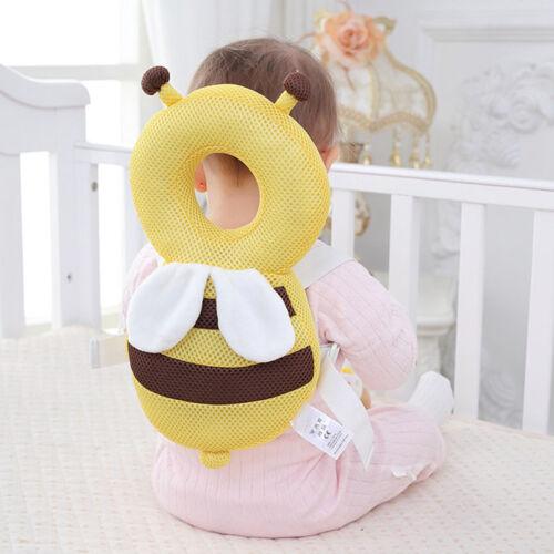 Baby Walking Head Protector Pad Toddler Headreast Cartoon Pillow Cushion Walker