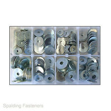 Assorted M5, M6, M8 & M10 Metric Zinc Plated Penny Repair Washers
