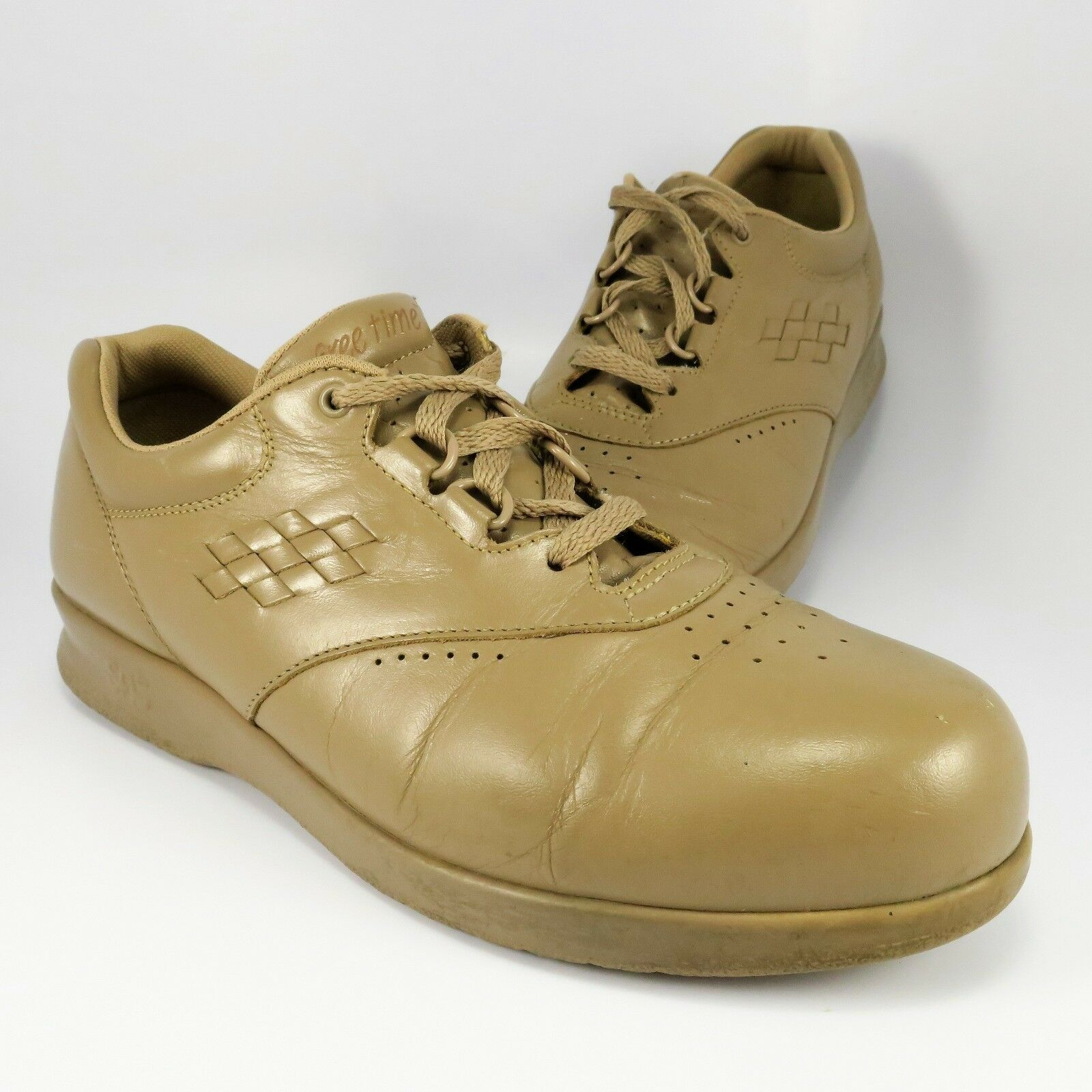 SAS Freetime shoes Womens Size 8.5M Tan Brown Leather Tripad Comfort Made in USA