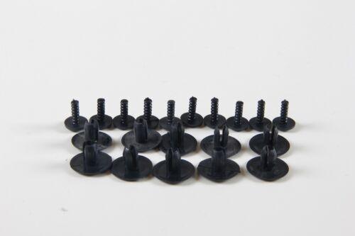 10X 6-7mm PEUGEOT 108 208 206 307 consente di tagliare Clip Rivetto Paraurti Pannello Fermo