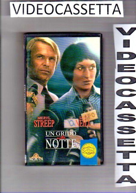 UN GRIDO NELLA NOTTE - VHS