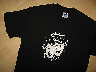 Sherburne Community Theatre Tee - Vintage 1980's New York USA Drama T Shirt Med