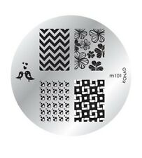 Konad Nail Art Image Plate 101