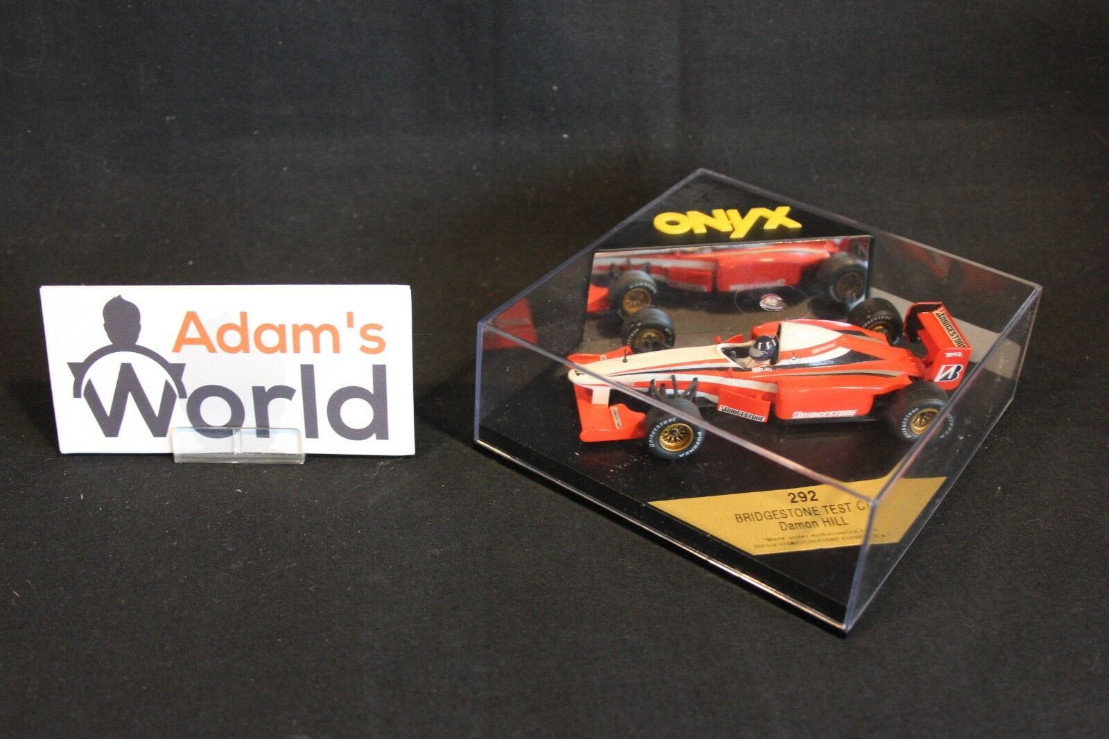 Onyx Bridgestone Test Car 1996 1 43 43 43 Damon Hill (GBR) (MM1) c170b1