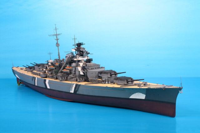 Trumpeter Models 1/200 WWII German Battleship Bismarck