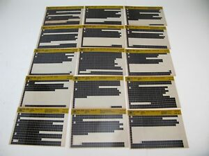 Chevy-S10-91-92-93-94-S-T-Microfiche-Light-Truck-Parts-20-Card-Catalog-1994-K