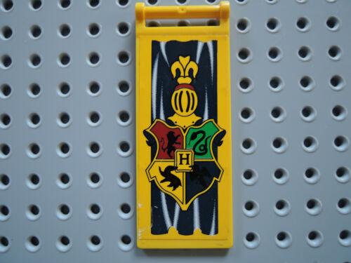 LEGO 1 X Bannière Drapeau 30292pb005 jaune 7x3 Sticker Harry Potter 4733