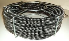 60 X 58 Sectional Pipe Drain Cleaning Cable Model S75 Fits Ridgid C8 Cable