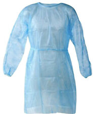 50 Pcsct Medical Dental Disposable Isolation Gown With Elastic Cuffs Pppe