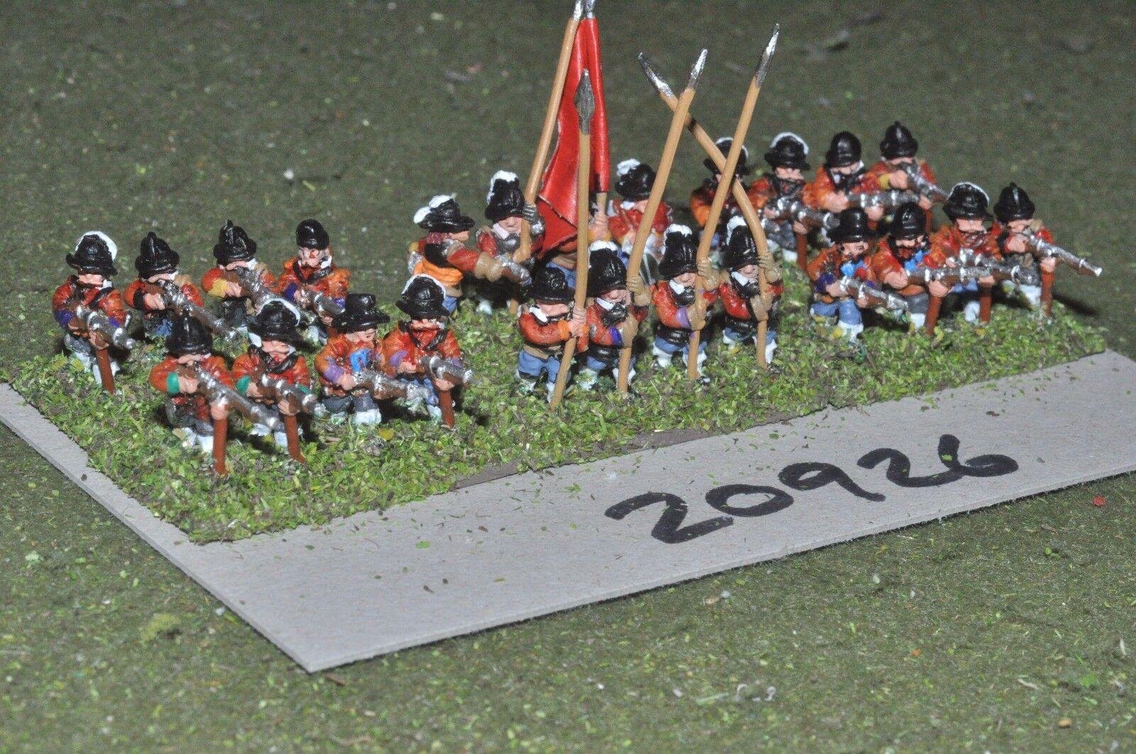 15mm ECW   english - civil war infantry 24 figures - inf (20926)