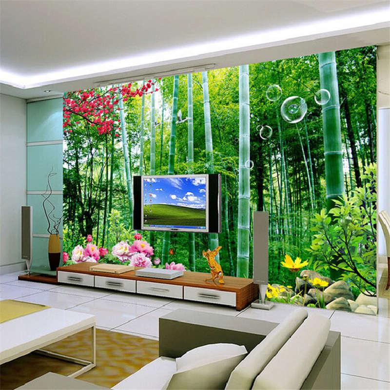 Exuberant Plants 3D 3D 3D Full Wall Mural Photo Wallpaper Printing Home Kids Decor 8f7235