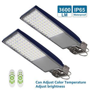 Image Is Loading Led Street Lights Outdoor Dusk To Dawn Sensor