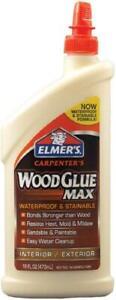 Elmer-039-s-E7310-Carpenter-039-s-Wood-Glue-Max-Interior-Exterior-16-Ounces