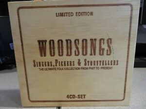Woodsongs-Singers-Pickers-amp-Storytellers-Various-Artists-CD-4-Discs-Limited