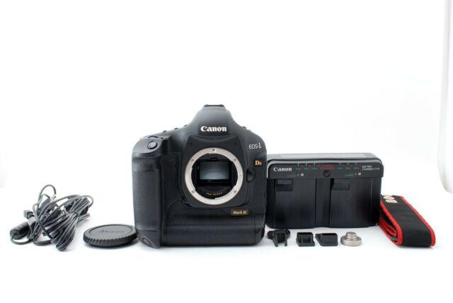 Canon Eos 1ds Mark Iii 21 1mp Digital Slr Camera Black Body Only For Sale Online Ebay