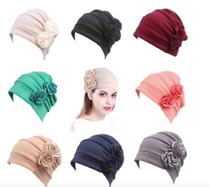 Chemo-Hair-Loss-Beanie-Hat-Scarf-Turban-Head-Wrap-Cancer-29-style-BOGO30-FREEPP