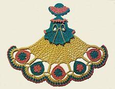 Crochet Crinoline Lady Doily - Easter