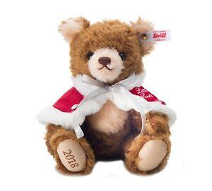 Teddybären Steiff Teddy Bear  Little Santa 2004 Japan Limited Very Rare Gift