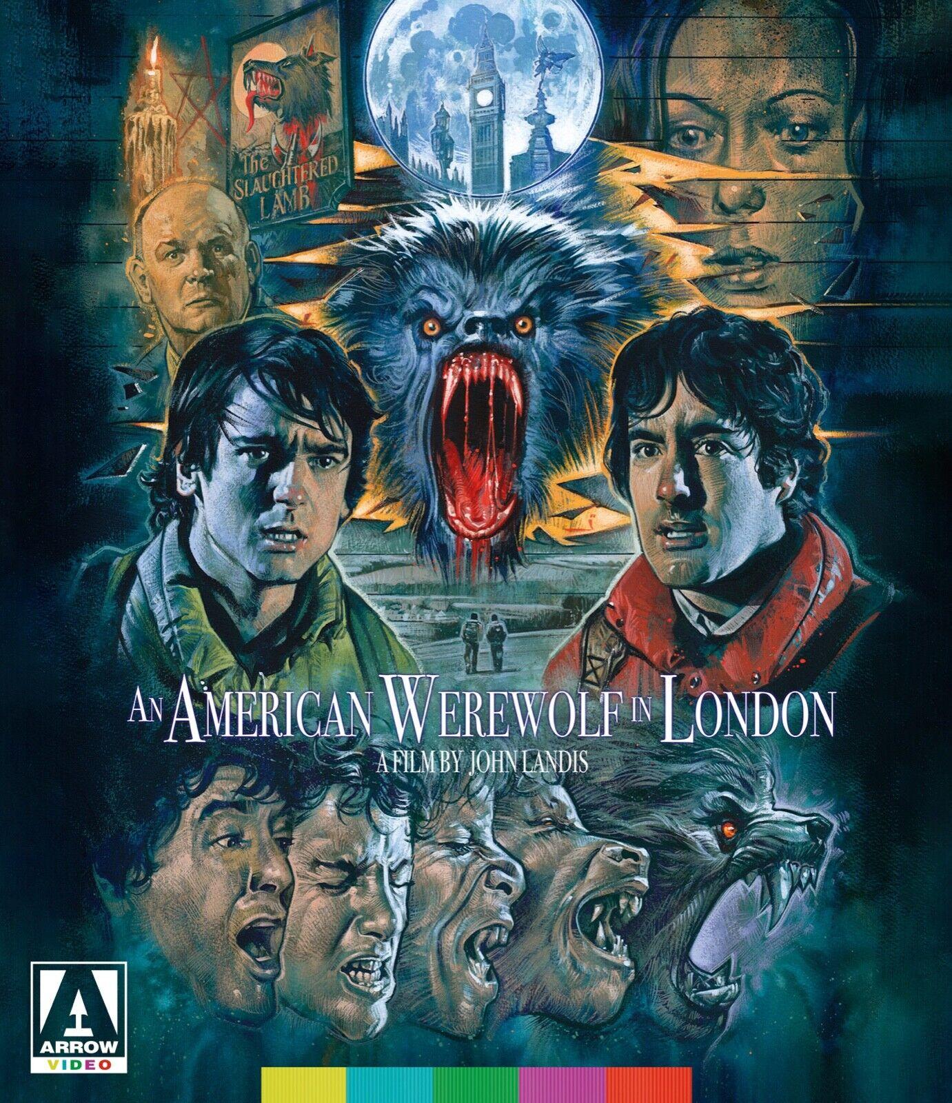 Arrow Video Blu Ray An American Werewolf In London Se John Landis