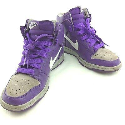 Nike womens Dunk High Skinny 386316-511 Size UK 5, EUR 38.5 Purple