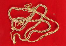 Gold Plated Saree Challa Kamarbandh Kamarpatta Belly Hips Chain Waist Belt