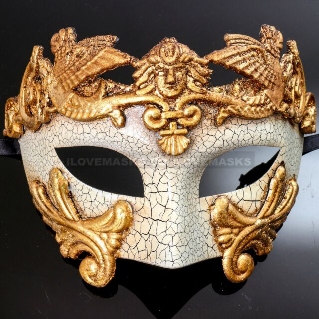 Ancient Roman Army Cosplay Costume Male Masquerade Mask