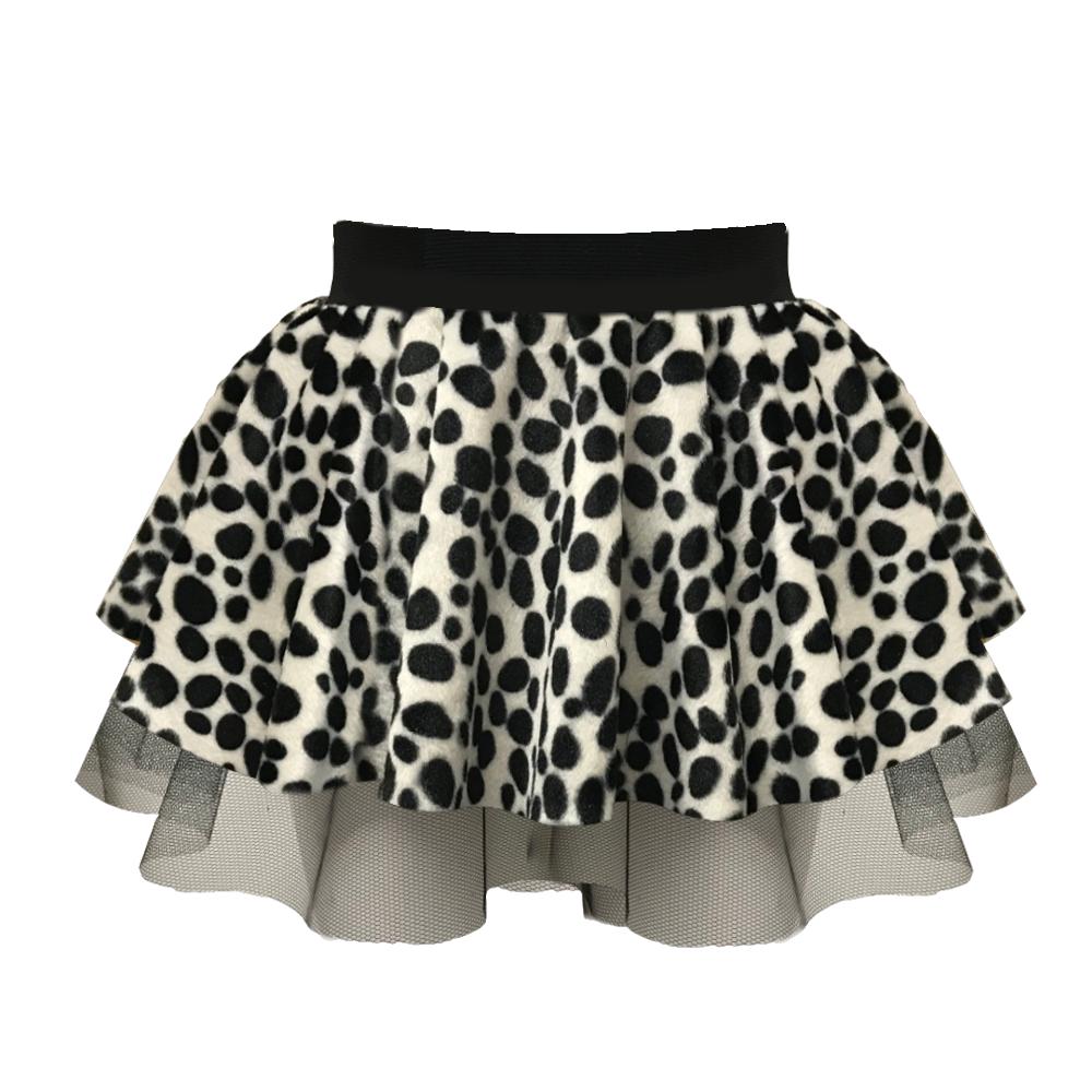 Dalmatian Dog Tutu Skirt Animals Children Spotty
