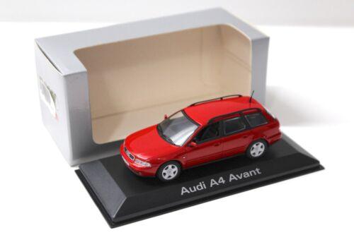 B5 Avant red DEALER SP NEW bei PREMIUM-MODELCARS 1:43 Minichamps Audi A4