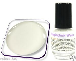 5ml-Stamping-Lack-fuer-KONAD-Nail-Stempellack-Farbe-Weiss-Weiss-SL-023