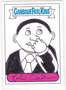 2013-Garbage-Pail-Kids-brand-new-series-2-BNS-2-sketch-Colin-Walton-OBAMA