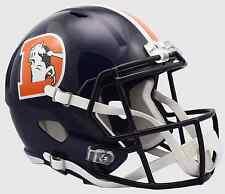 DENVER BRONCOS Riddell SPEED Full Size Replica Football Helmet 2016 COLOR RUSH